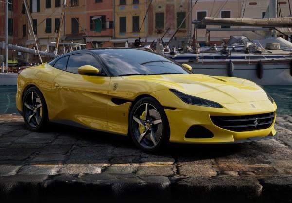 BBR Ferrari Portofino M Spider offen Giallo Modena Limited Edition 1/18