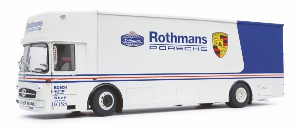 Schuco Mercedes Renntransporter ROTHMANS 1:18 Limited Edition 500